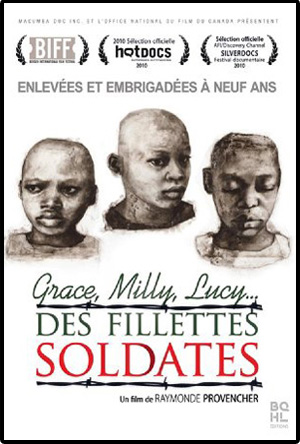 affiche-fillettes-soldates-raymonde-provencher-2009