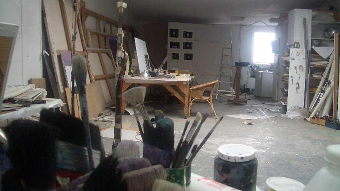 Tournage - L'atelier de mon père - Jennifer Alleyn