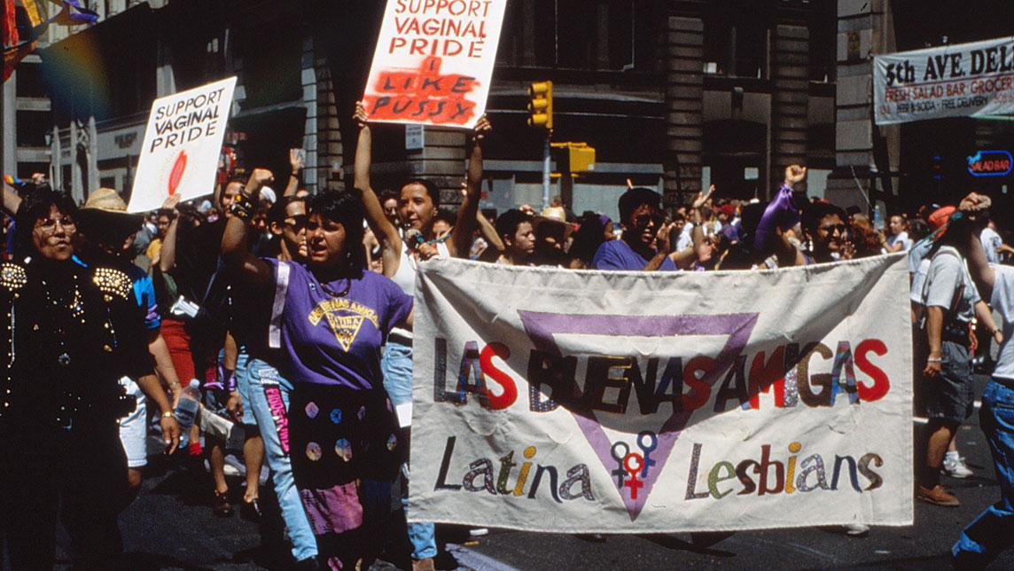 Tournage - Lesbiana une révolution parallèlle - Myriam Fougère