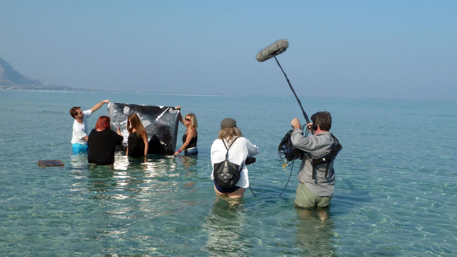 Tournage - Dans un océan d'images - Helen Doyle