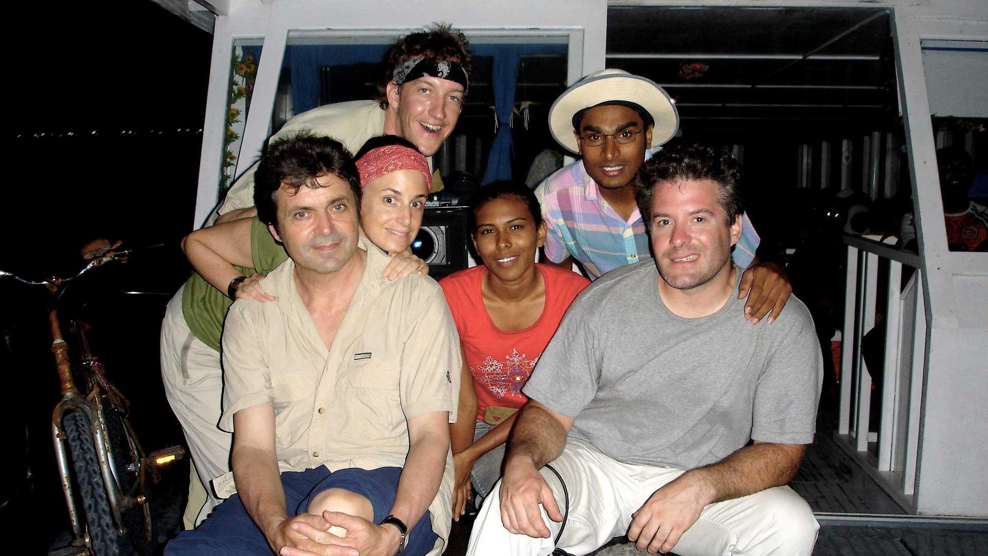 Tournage - Les réfugiés de la planète bleue - Hélène Choquette