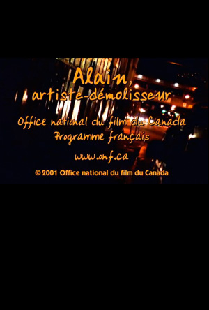 affiche-alain-dubreuil-artiste-demolisseur-manon-barbeau-2001